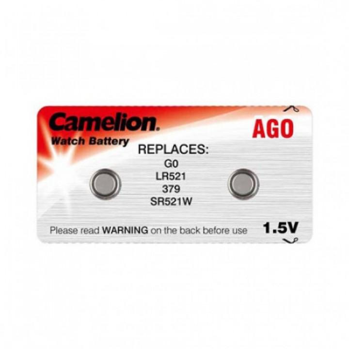 Батарейка Camelion AG0 (LR521, 379) для микронаушников