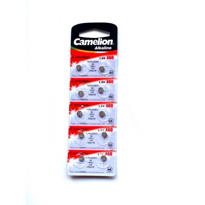 Батарейки Camelion AG0 (LR521, 379) для микронаушников