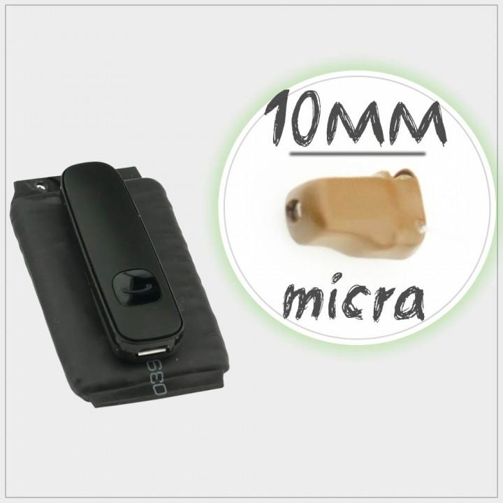 Микронаушник Micra PowerBox