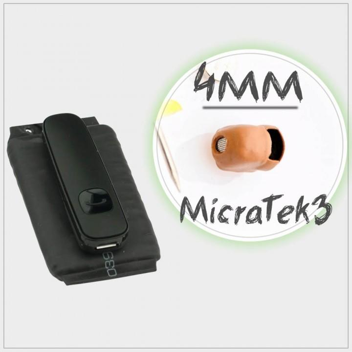 Аренда микронаушника MicraTEK3 PowerBox