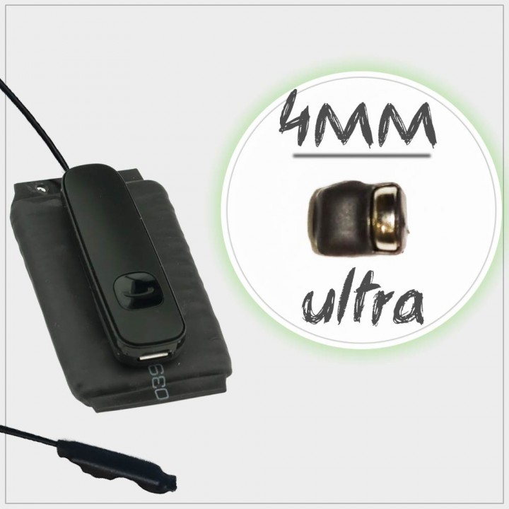 Аренда микронаушника Ultra PowerBox
